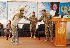 هشت سرباز خط مقدم نبرد در فراه تقدیر شدند