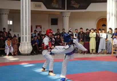 رقابتهای قهرمانی جام محصل در دانشگاه هرات برگزار شد