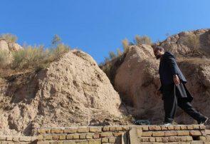 اداره اطلاعات و فرهنگ تخریب دیوار قدیم شهر را متوقف کند