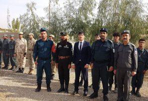 ۶۶ افسر آموزش دیده به صفوف پولیس فراه پیوستند