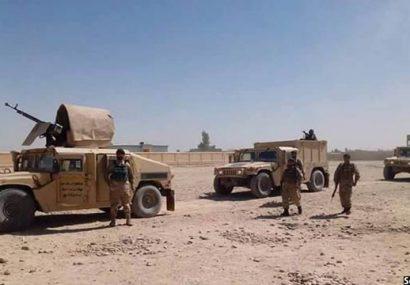دولت پاکسازی حومه شهر فراه را آغاز کرده است