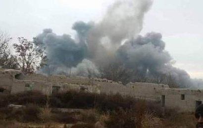 انفجاری در غور جان دو غیر نظامی را گرفت