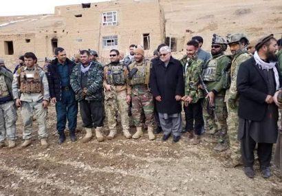 والی غور و مقامهای امنیتی وارد منطقه سومک دولتیار شدند