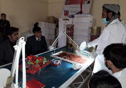 یک مرکز مدرن فرآوری زعفران در بادغیس به بهرهبرداری رسید