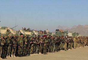 عملیات بزرگ شهید بختور با اجرای مانور گسترده نظامی در فراه راهاندازی شد