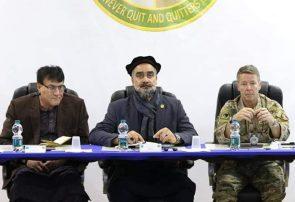 والیان هرات و بادغیس با فرمانده عمومی حمایت قاطع در افغانستان دیدار کردند