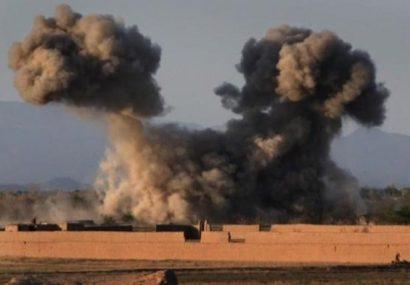 طالبان ۹ عضو خود را در حملات هوایی فراه از دست دادند