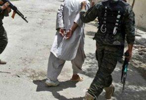 سرباز پیوسته به طالبان در مرکز بادغیس دستگیر شد
