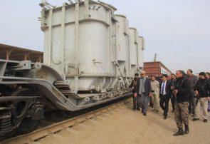 نیرومندترین ترانسفارمر تقویت شبکه برق از ترکمنستان به هرات رسید