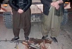 نیروهای امنیتی مردان مسلح هرات را از یک خانه گرفتند