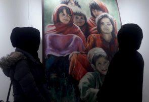 بانوان نقاش هرات اسطورههای خاموش را به نمایش در آوردند
