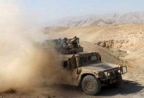 تانک نیروهای امنیتی در دره تخت طعمه ماین طالبان شد