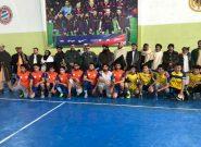 رقابتهای چهارجانبه والیبال جوانان و پولیس در هرات پایان یافت