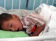 پدری در فراه برای درمان بیماری فرزندانش گرده خود را فروخت