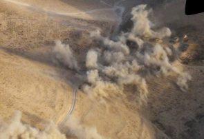 بمباران هوایی در فراه جان دو طالب مسلح را گرفت