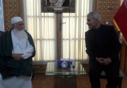 حضور امیرمحمد اسماعیل خان و صدها تن دیگر در کنسولگری ایران در هرات