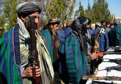 هفت طالب مسلح در بادغیس به روند صلح پیوستند