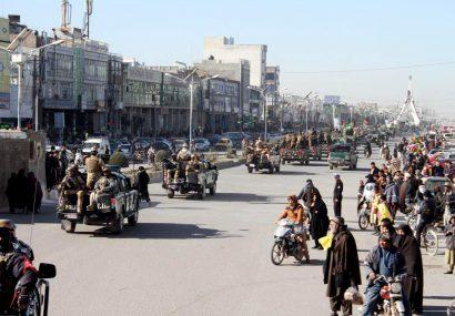 مانور نیروهای مشترک نظامی در آغاز طرح امنیتی هرات