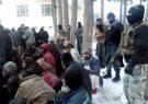 دهها بیمار مبتلا به مواد مخدر هرات و فراه از سرما نجات داده شدند