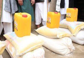 توزیع کمکهای غذایی و غیر غذایی در ۱۴۷ روستای پشتون زرغون