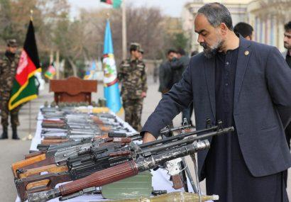 بازداشت دو فرمانده و کشف انبار بزرگ اسلحه طالبان در عملیات امنیت ملی هرات