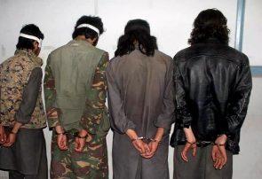 پولیس فراه چهار طالب مسلح را دستگیر کرد
