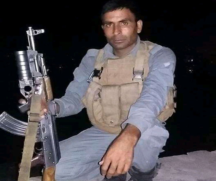 یک سرباز پولیس در مرکز هرات ترور شد