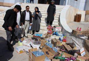 مقداری مواد خوراکی تاریخ گذشته از سطح شهر هرات جمعآوری شد