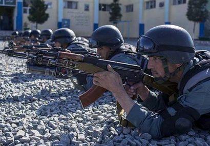 افزایش توان جنگی و عملیاتی پولیس فراه با جذب صدها سرباز