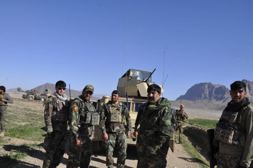 عملیات سه روزه بالابلوک فراه پایان یافت/پنج کشته و تصرفات فراوان