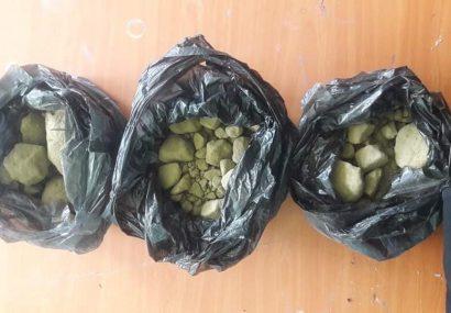 دو قاچاقچی با سه کیلوگرام مواد مخدر به چنگ پولیس هرات افتادند