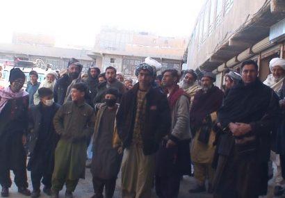 مردم ولسوالی کشک کهنه و رباط سنگی هرات راه ندارند