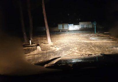 بارانهای خشمگین ادرسکن هرات را زیر آب برد/دولت کاری نکرده است