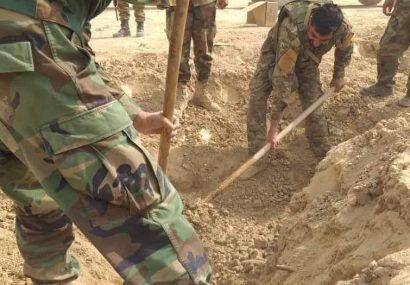 طالبان برای حمله به ارتش فراه ۱۱۰ متر تونل کنده بودند