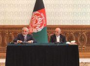 محمد اشرف غنی و عبدالله عبدالله توافق نامه سیاسی را امضا کردند