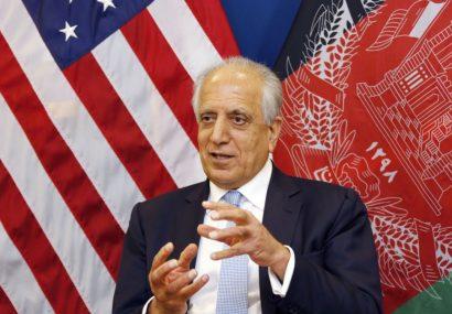 زلمی خلیلزاد برای امور صلح به کابل میآید