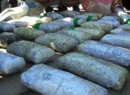 بازداشت دو مظنون به قاچاق ۳۰ کیلوگرام کریستال در اسلام قلعه هرات