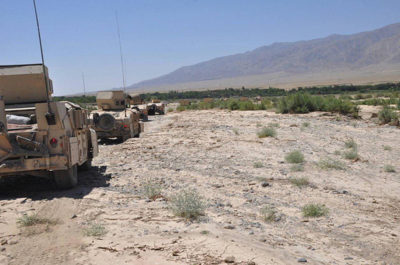 ختم عملیات پاکسازی پشتون زرغون هرات/شش فرد مشکوک دستگیر شدند