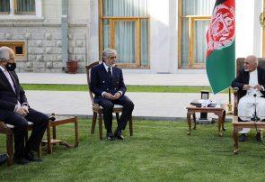 زلمی خلیل زاد با محمد اشرف غنی و عبدالله عبدالله دیدار کرد