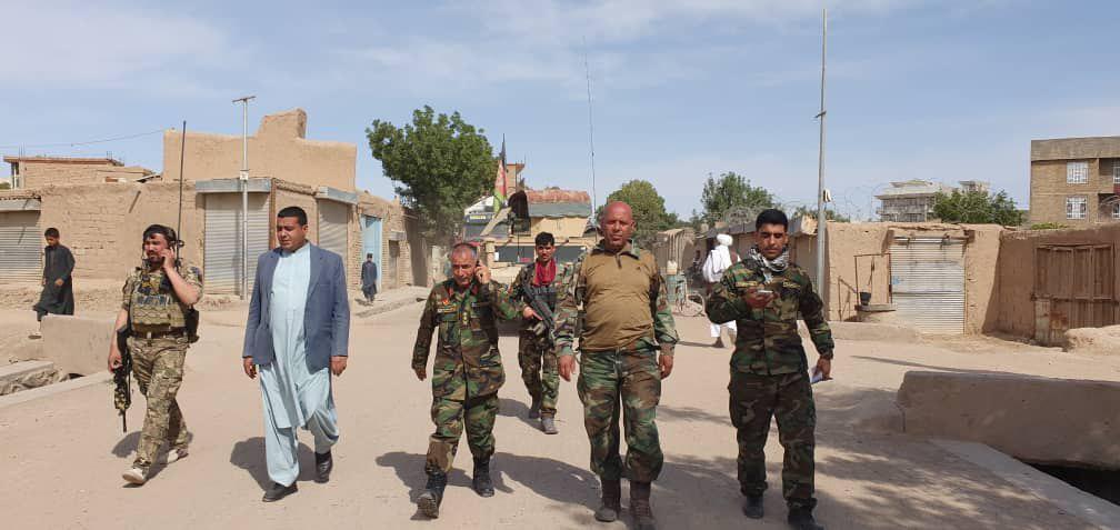 تلفات شدید طالبان شیندند هرات/۱۴ کشته و از بین رفتن پایگاه طالبان