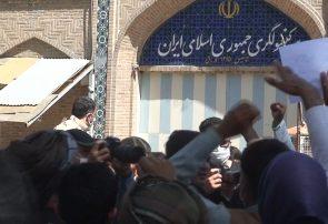 اعتراض شماری از مردم هرات در پی غرق شدن کارجویان افغان در مرز با ایران