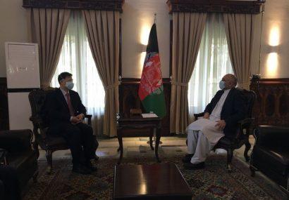 حنیف اتمر با سفیر کشور چین دیدار کرد