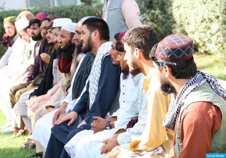 ۲۰ زندانی دیگر دولت از سوی طالبان آزاد شدند