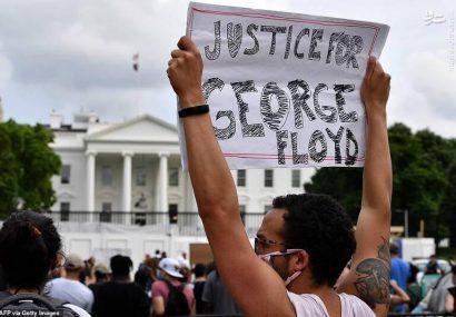 افزایش اعتراضات مردمی در نزدیکی کاخ سفید آمریکا