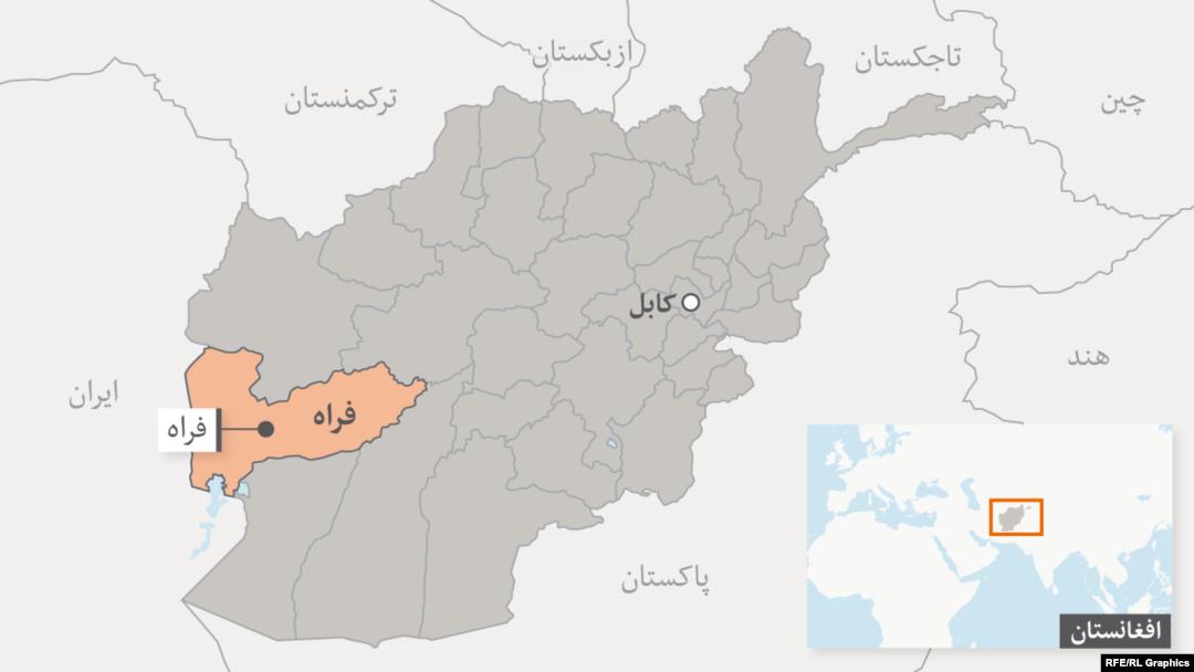 نقشه جدید طالبان فراه/نفوذ در اطراف شهر