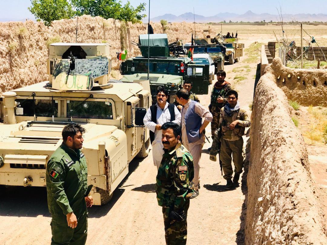 طالبان در ولسوالی غوریان هرات با پنج کشته و چندین زخمی شکست خوردند
