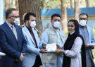معماران صلح در هرات ماسک توزیع کردند