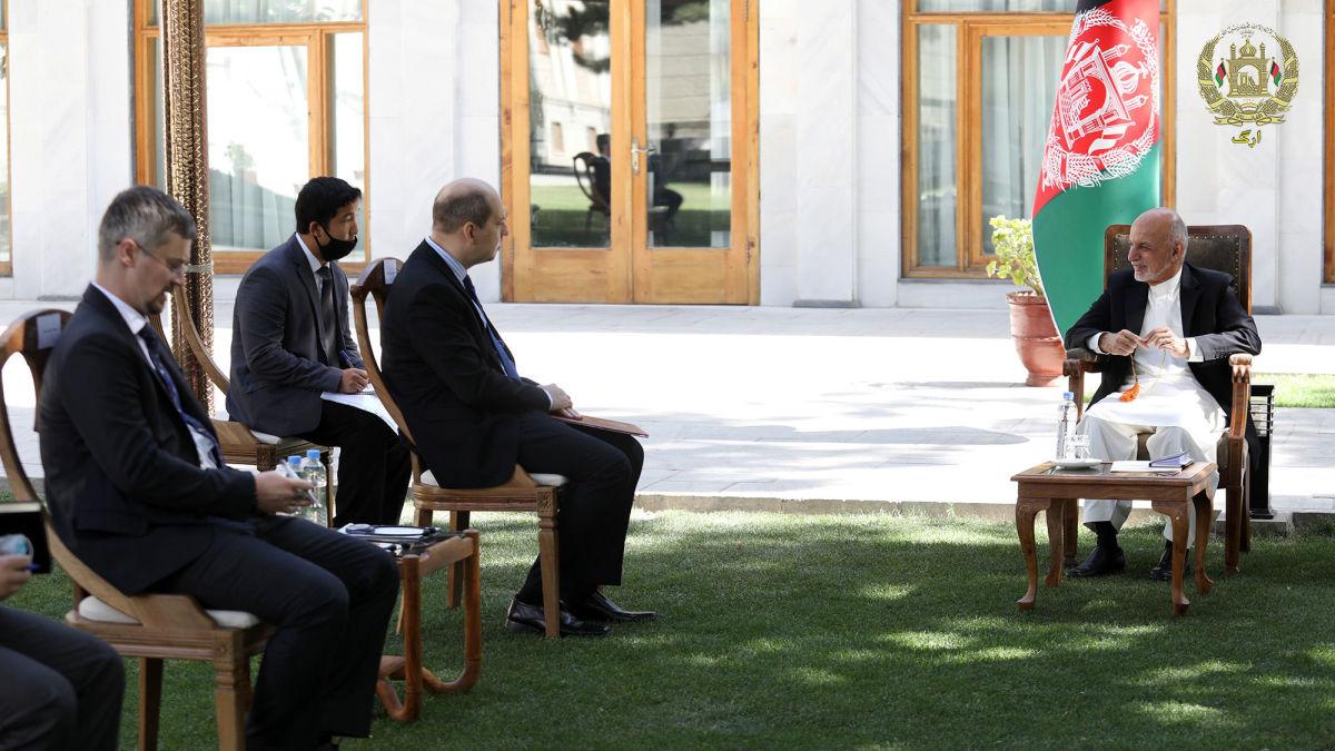 پوتین سالروز افغانستان را به محمد اشرف غنی تبریک گفت