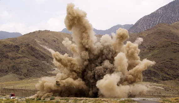 انفجار ماین در بادغیس با سه تن کشته و سه مجروح