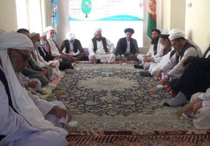 بزرگداشت اولین سالروز رحلت حضرت آیت الله العظمی محسنی در هرات